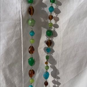 "Jewelry - 16"" beaded necklace"